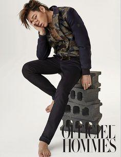 zico chikko model block b sexy officiel hommes photoshoot photographer kong…