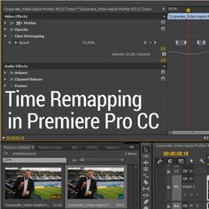 Time Remapping In Adobe Premiere Pro CC