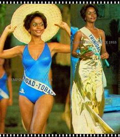 The First Black Woman to win Miss Universe in 1977. Janelle Commissiong from Trinidad and Tobago.