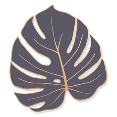 Enamel Pin Badge of a Monstera Leaf 1 colour luxury hard enamel lapel pin with rose gold finish. Designed by Rachel Basinger. Cheese Plant, Jungle Safari, Pin Badges, Lapel Pins, Plant Leaves, Rose Gold, My Style, Plants, Enamel