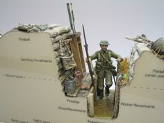 WWI covered live deconstructing a trench - Do we still need these skills, I wonder!