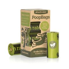 Earth Rated Poop Bags Dog Waste Bags, Refill Rolls ( Special Free Shipping )