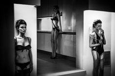 The AW13 lingerie campaign from Lascivious features modern and effortlessly sexy Jade Collection range and men's 'Blow Me' range.
