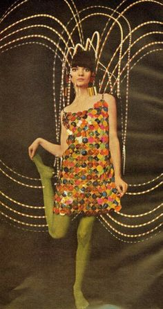 plastic dress 1966