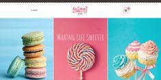 Sweet #Dessert   #Sweet Shop & Cafe #WordPress Theme