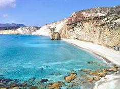 Milos Island Firiplaka Beach #Greece