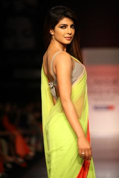 Priyanka Chopra for Manish Malhotra LFW Summer/ Resort 2013