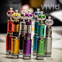 Panda Drip Tips. #vapers #vape #vapeon