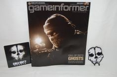 Call of Duty Ghosts Patch Sticker Gameinformer Magazine NEW