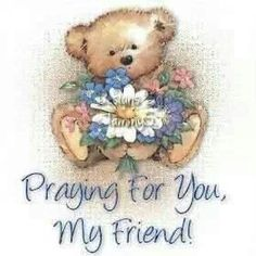 Praying for you, my friend. <3