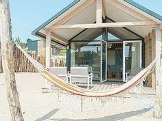 Sea Lodge met de hond in Overveen: 2 Schlafzimmer, für bis zu 4 Personen. Haustierfreundliche Sea Lodge in gemütlichem Ferienpark in der Nähe des Strandes von Bloemendaal   FeWo-direkt