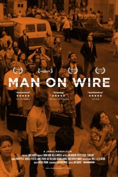 Twitter / benanslow: New poster: Man On Wire #1 ...
