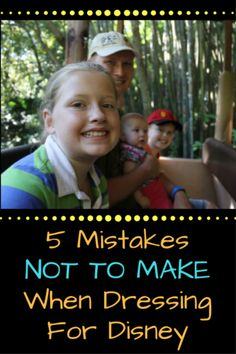 Wearing the wrong clothes at Disney can make for a miserable trip! And if you aren't used to Florida weather, you need these tips! Here are 5 mistakes not to make with your park clothes!