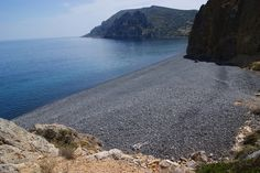 Black Pebble Beach, Chios Greece Places To Travel, Places To Visit, Travel Destinations, Chios Greece, Places In Greece, Ticket To Ride, Paradise On Earth, Island Beach, Greece Travel