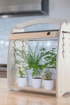 LED Habitat Indoor Gardening System