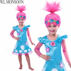 $7.90 (Buy here: https://alitems.com/g/1e8d114494ebda23ff8b16525dc3e8/?i=5&ulp=https%3A%2F%2Fwww.aliexpress.com%2Fitem%2FTrolls-Dress-Disfraces-Infantil-2017-Brand-Girls-Summer-Dress-Trolls-Inspired-Poppy-Lace-Costume-Princess-Dresses%2F32788641755.html ) Trolls Dress Disfraces Infantil 2017 Brand Girls Summer Dress Trolls Inspired Poppy Lace Costume Princess Dresses Kids Clothes for just $7.90