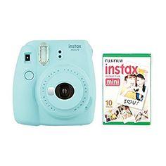 instax Mini 9 Camera with 30 Shots - Flamingo Pink: Amazon.co.uk: Camera & Photo