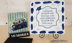A wonderful keepsake for the graduate - friends and family can sign it to make it even more special!