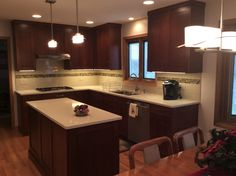 Traditional kitchen remodel in Orland Park