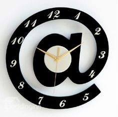 New Arrival Modern Creative @ Symbol Design Wall Clock  @beddingtons bed & bath inn