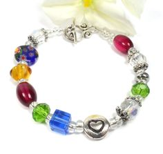 This beautiful beaded Sister In Law bracelet makes a special gift.