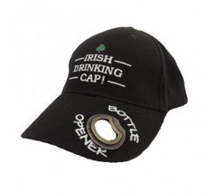 74a5efacdf4 Baseball Cap Irish Drinking Tailgate Hat With Bottle Opener    Details can  be found by