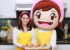 Loved making these Chocolate Cornets from the video game Cooking Mama on Nerdy Nummies! Bon Appetit! :)
