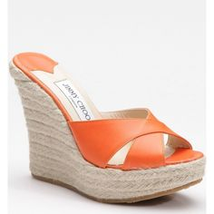d96dc34e89cc9 Jimmy Choo Phyllis Espadrille Wedge Slides Orange. cheap jimmy choo shoes  outlet store for sale ...