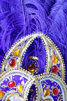 headdress decoration close up