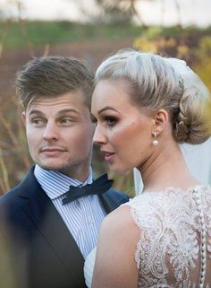 Peter Trends Real Life Bride Katerina and husband Jedd.  Tomar Photography