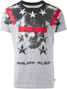 Philipp Plein 'cryptic' T-shirt - Julian Fashion - Farfetch.com