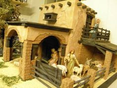 Christmas In Italy, Christmas 2015, Christmas Crafts, Diorama, Portal, Christmas Nativity Scene, Mini Things, Diy Art, Diy Crafts