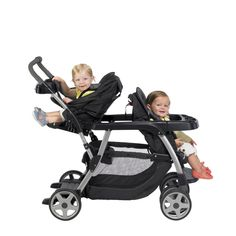 Graco Ready2Grow Stroller - 12 different riding configurations from two carseats to two big kids!