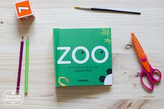 Zoo, animales en pop up. Maravilloso.