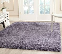 Shag Collection SG165-7373 New York Shag Color: Purple  #rug #carpet #safavieh #safaviehrug  #trendy #homedecor #homeaccents #shophome #livingroom #diningroom #bedroom #kitchen #office #rugsforyourhome #shag #shagrug #shagcarpet #softshagrugs #shagrugdesign #stunningshagrugs #safaviehshag #safaviehshagrugs #trendyrugs #bestrugs #bestrugprices
