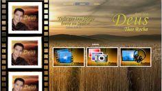 Página de Galeria do site do Cantor Theo Rocha