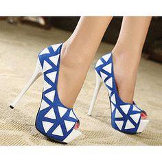 sexy new women's shoe high heel high heels peep toe sandal Stilettos pump Cute Shoes, Women's Shoes, Me Too Shoes, Shoe Boots, Shoe Shoe, Ugg Boots, Peep Toe Heels, Pumps Heels, Stiletto Heels