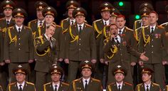 Members of Russia's Ministry of Internal Affairs choir, Get Lucky, 2014