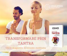 """""""Tantra spune: nu condamna niciodată nimic − atitudinea de a condamna este o atitudine prostească. Atunci când condamni ceva, te lipsești de o posibilitate, care ți-ar fi devenit disponibilă dacă ai fi lăsat să evolueze ceea ce era inferior. Nu condamna noroiul, deoarece lotusul este ascuns în noroi; folosește noroiul pentru a da naștere lotusului."""" Sanskrit, Osho, Tantra, Indie, Movie Posters, Movies, Films, Film, Movie"""