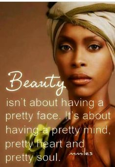Be beautiful on the inside