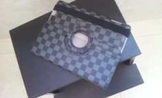 Louis Vuitton ipad cover. real shoot. $88+FREE shipping+on-line payment