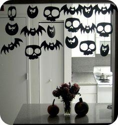 5 Guirnaldas para Halloween | Aprender manualidades es facilisimo.com