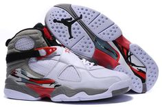 11afa9b9c9fccc Authentic Air Jordans 8 Retro Bugs Bunny White Hyper Blue-True Red-Flint  Grey