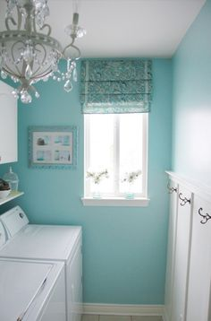I Love Blue Laundry Rooms