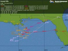 Tropical Depression may affect weather this weekend