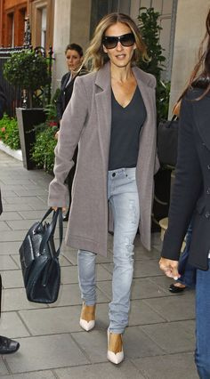 I want some chic boyfriend jeans. Yes, it's possible!