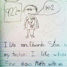 ideas funny test answers student hilarious math for 2019 Funny Kid Letters, Letters For Kids, Funny School Answers, Funny Test Answers, Funny Quotes For Teens, Quotes For Kids, Funny Kid Drawings, Funny Kids Homework, Things Kids Say