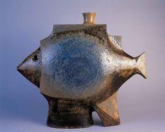 'Poisson-bouteille' - Jean Derval | 1666  Inv. 1994-18-8 | Il se plaignait que les antiquaires viennent lui acheter du 50 ou lui demander d'en refaire en 'oubliant' de dater ses oeuvres.