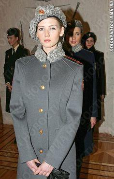 Sexy Russian Soviet Military Women in Uniform Military