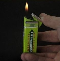 Lighter That Looks Like A Pack of Gum
